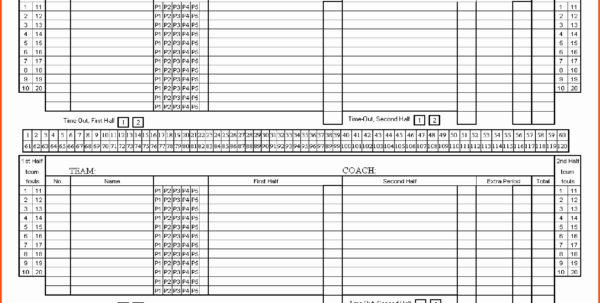 Soccer Stats Spreadsheet Template In Basketball Stat Sheet Template Free Printable Score Blank Sample