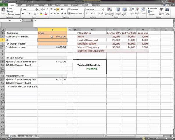 Social Security Benefits Estimator Spreadsheet Intended For Social Security Benefits Estimator Spreadsheet  Aljererlotgd