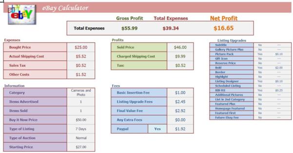 Software Roi Calculator Spreadsheet Throughout Profit Calculator Excel  Kasare.annafora.co