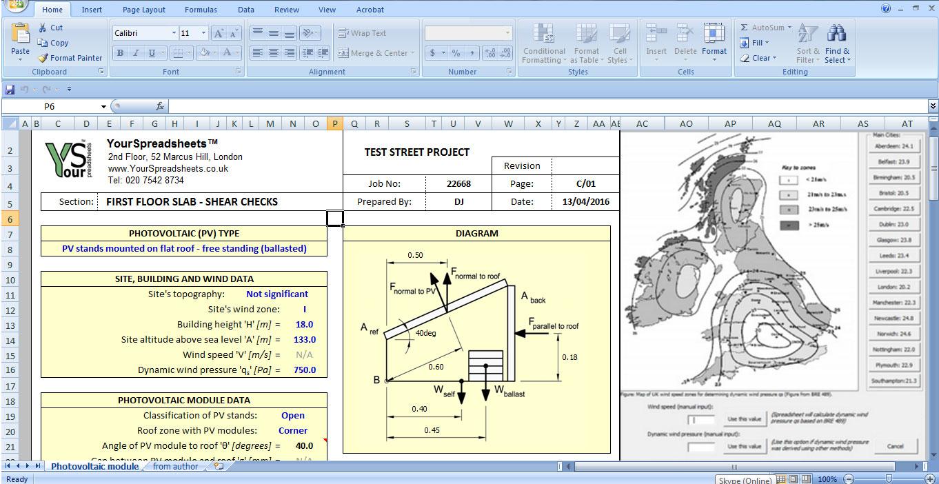 Solar Pv Calculator Spreadsheet For Solar Sizing Worksheet System Calculator Excel Rv Panel Calculation