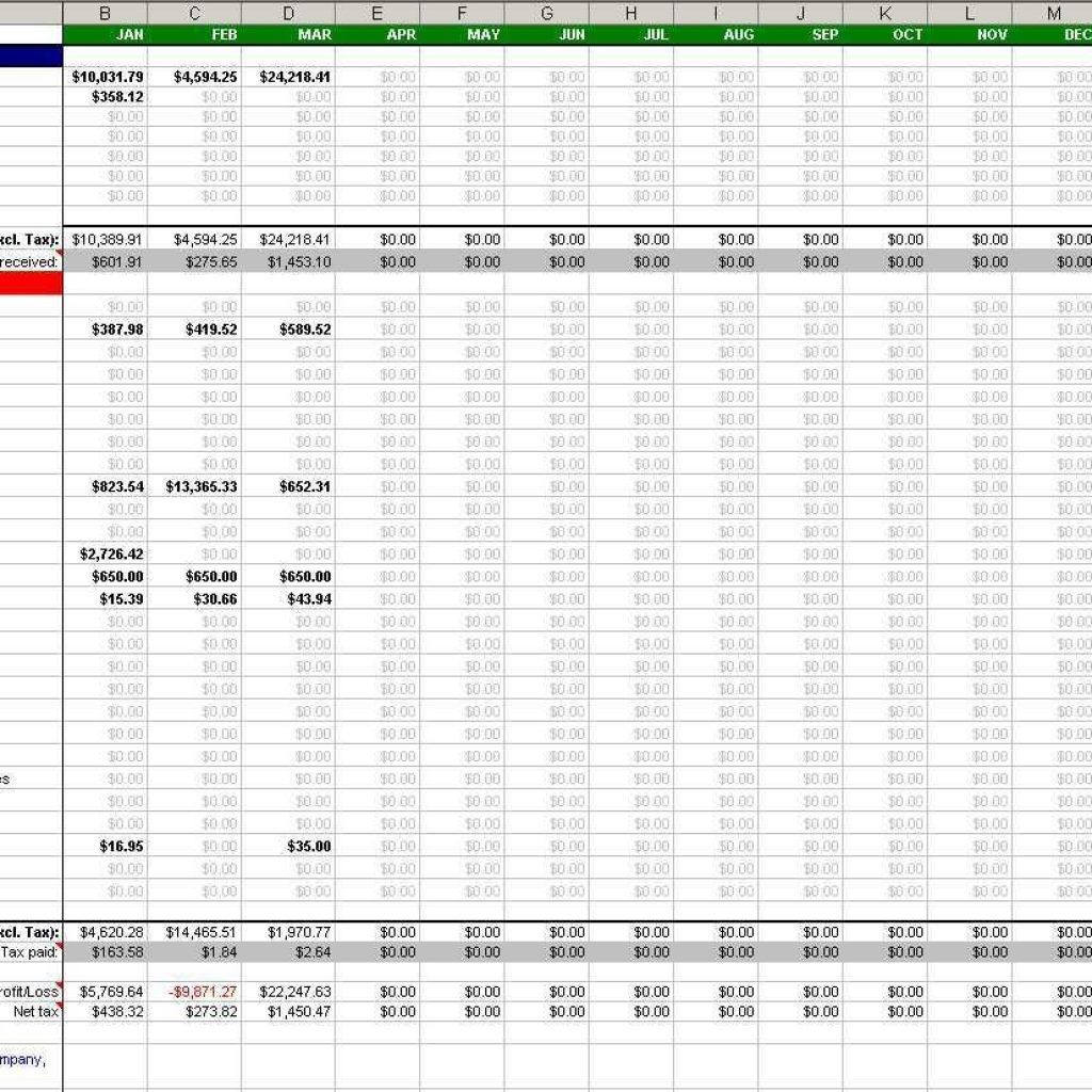 Sole Trader Accounts Spreadsheet Template Intended For Basic Accounting Spreadsheet Free Simple For Small Business Sole