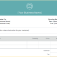 Sole Trader Bookkeeping Spreadsheet Australia For Invoice Examples For Every Kind Of Business