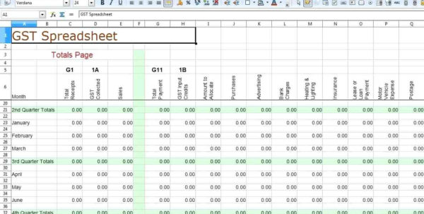 Sole Trader Bookkeeping Spreadsheet Regarding Free Sole Trader Bookkeeping Spreadsheet Bookkeeping Spreadshee Free