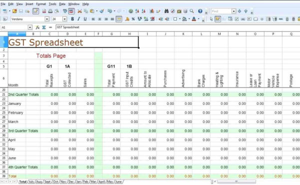 Sole Trader Spreadsheet Pertaining To Free Sole Trader Bookkeeping Spreadsheet Bookkeeping Spreadshee Free