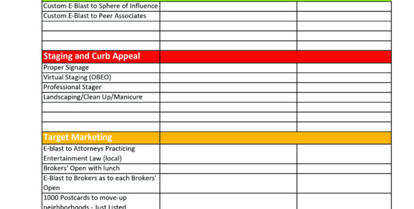 Sphere Of Influence Spreadsheet With Regard To Marketing Plans  Thepaizgroup