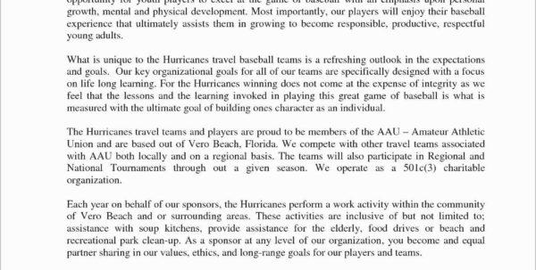 Sponsorship Spreadsheet Template Intended For Travel Baseball Team Budget Spreadsheet Also 47 Awesome S Sports