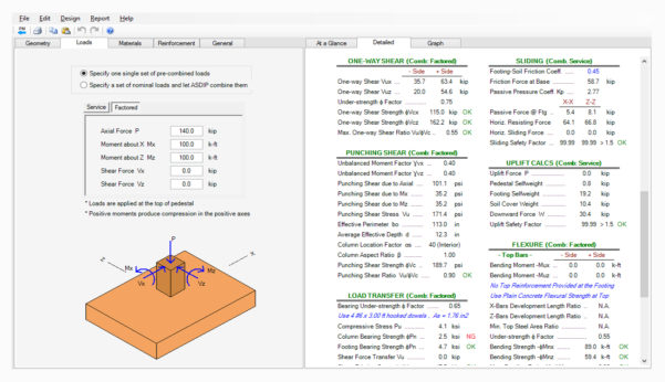 Spread Footing Design Spreadsheet Intended For Spread Footing Design Spreadsheet  Aljererlotgd