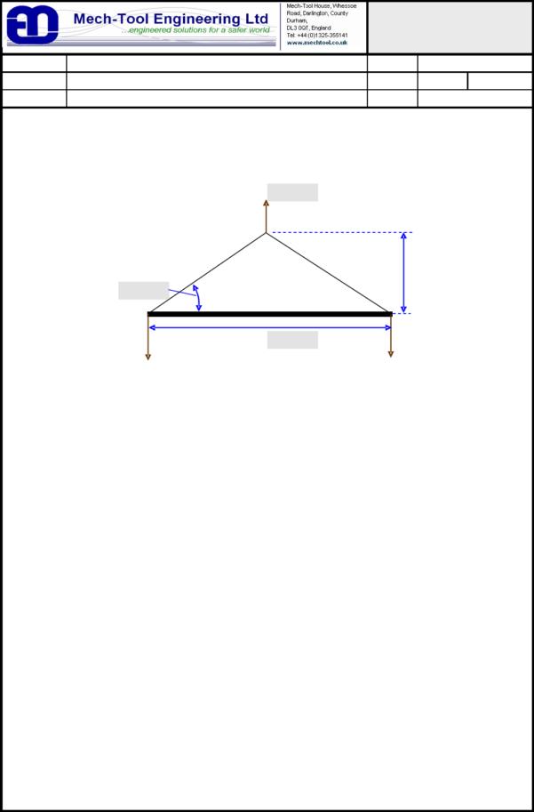 Spreader Beam Calculation Spreadsheet Intended For Spreader Beam Calculation Xls  New Images Beam