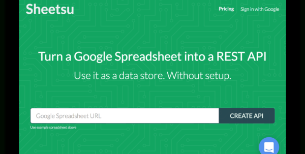 Spreadsheet Api Inside How To Start Playing With The Rest Api? – Sheetsu