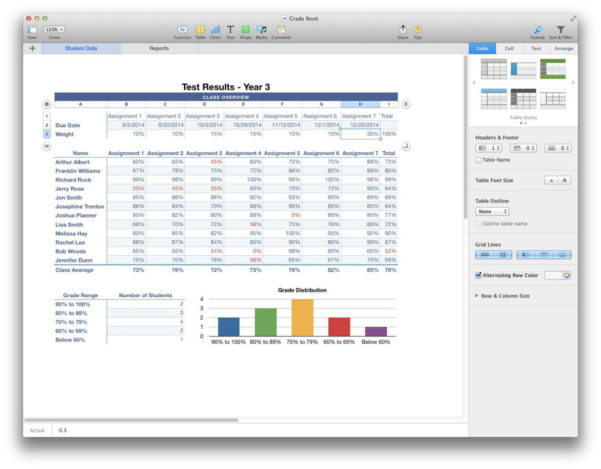 Spreadsheet App For Mac With Free Spreadsheet Software For Mac  Systemhockey's Blog