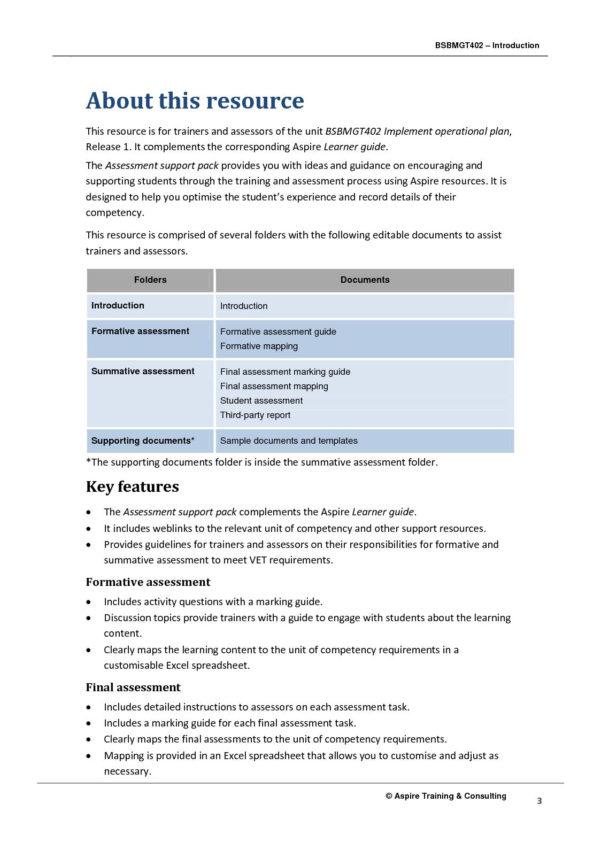 Spreadsheet Assessment Task Intended For Calaméo  Bsbmgt402 Asp