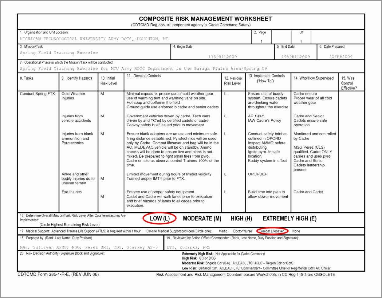 Spreadsheet Assessment Task Intended For Risk Assessment Spreadsheet Of Risk Analysis Template Excel It Risk