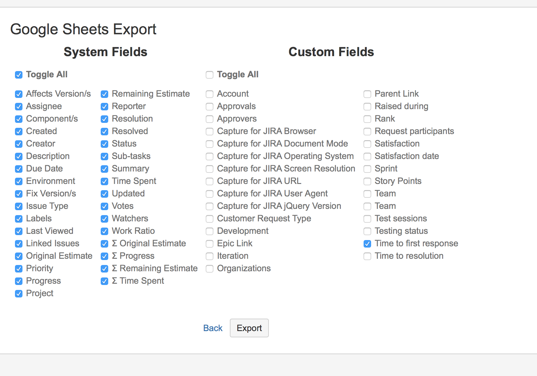 Spreadsheet Assessment Task Pertaining To Google Sheets Integration  Atlassian Marketplace