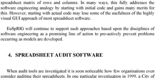 Spreadsheet Auditing Tools In Stop That Subversive Spreadsheet!  Pdf Spreadsheet Auditing Tools Spreadsheet Download