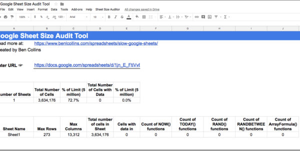 Spreadsheet Auditing Tools Intended For Slow Google Sheets? Here Are 27 Techniques You Can Try Right Now