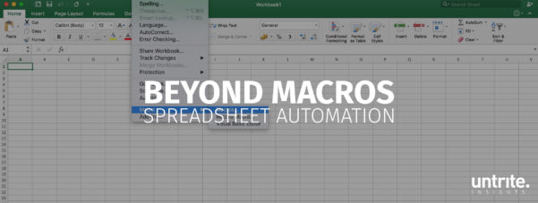 Spreadsheet Automation Intended For Beyond Macros — Automating Your Spreadsheet Workload