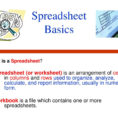Spreadsheet Basics Ppt Inside Spreadsheet Basics What Is A Spreadsheet?  Ppt Download