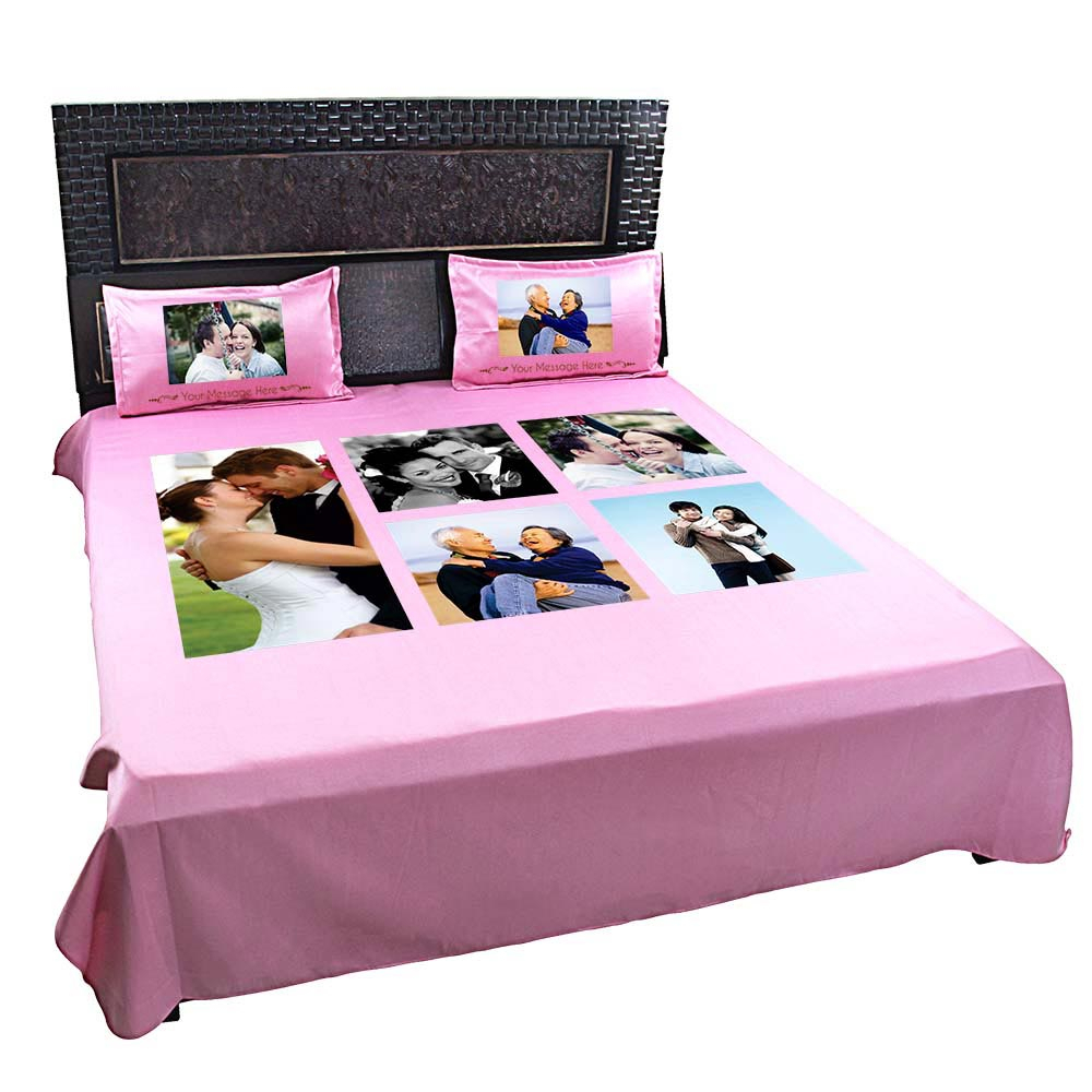 Spreadsheet Bed Inside Personalized Custom Photo Bed Sheets
