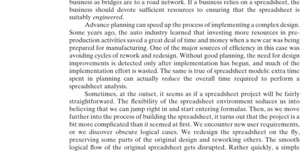 Spreadsheet Book In Chapter 5: Spreadsheet Engineering  Management Science: The Art Of Spreadsheet Book Google Spreadsheet