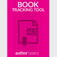 Spreadsheet Book With Regard To Book Tracking Spreadsheet Tool  Author Basics