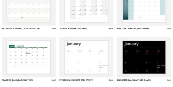 Spreadsheet Calendar Template In Excel Calendar Templates  Excel