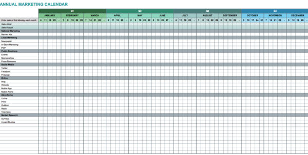 Spreadsheet Calendar Template Throughout Spreadsheet Calendar Template Excel Melo In Tandem Co Xls
