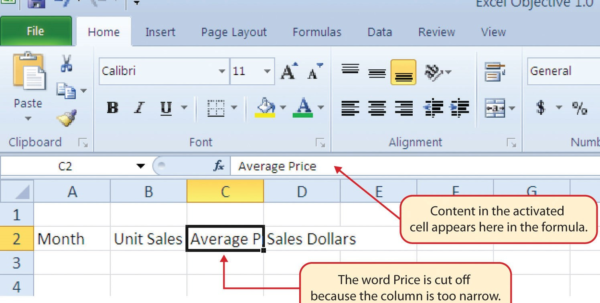 Spreadsheet Cell Definition With 1.2 Entering, Editing, And Managing Data – Beginning Excel