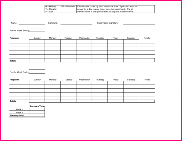 Spreadsheet Codes Throughout Excel Timesheet Template With Formulas Samples Weekly Spreadsheet