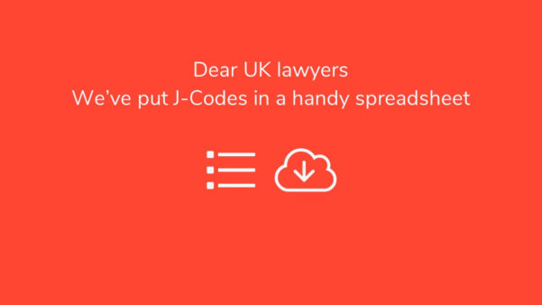 Spreadsheet Codes Within Dear Uk Lawyers  We've Put Jcodes In A Handy Excel Spreadsheet