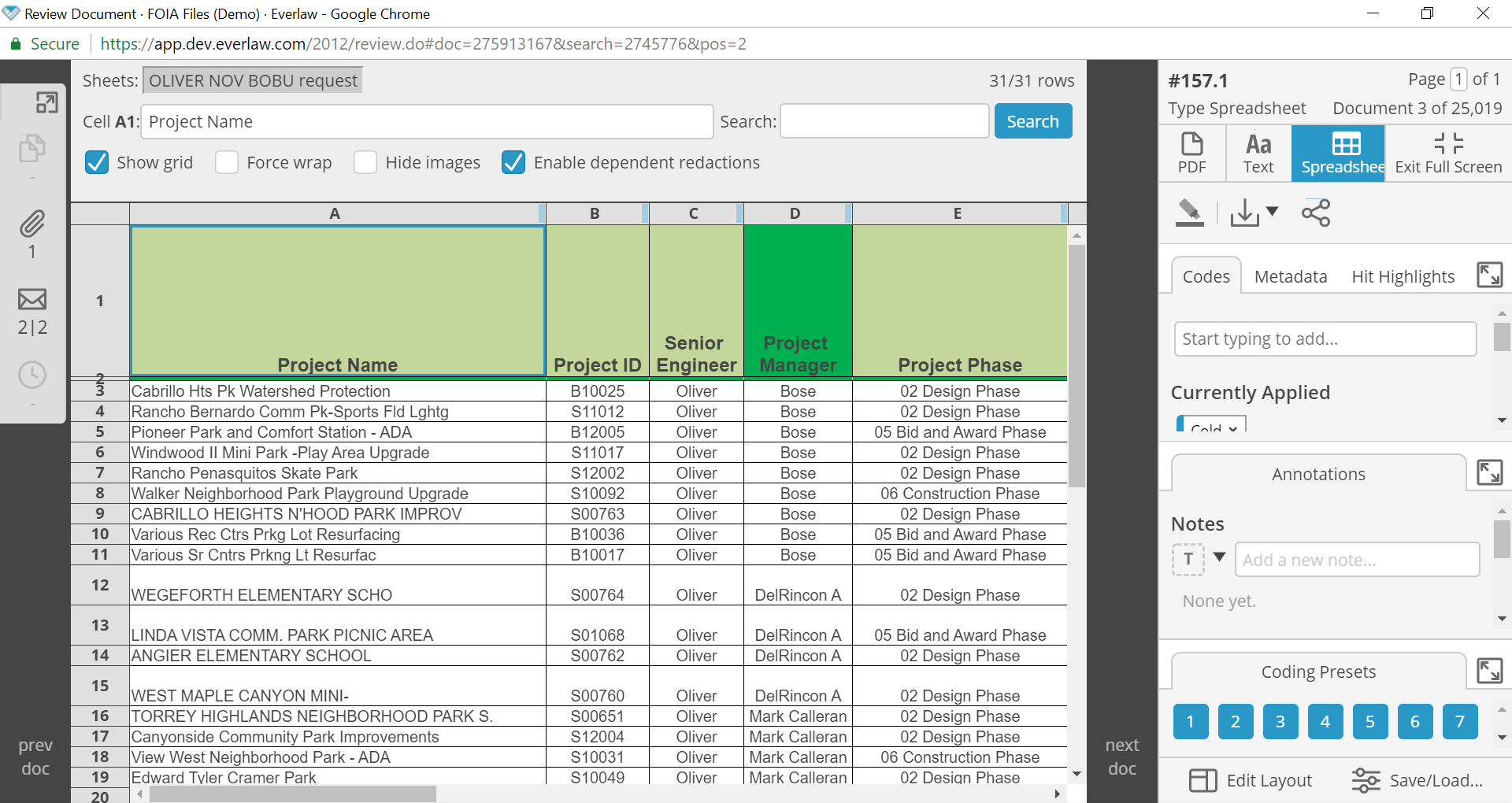 Spreadsheet Com Pertaining To Spreadsheet Review And Redactions – Knowledge Base