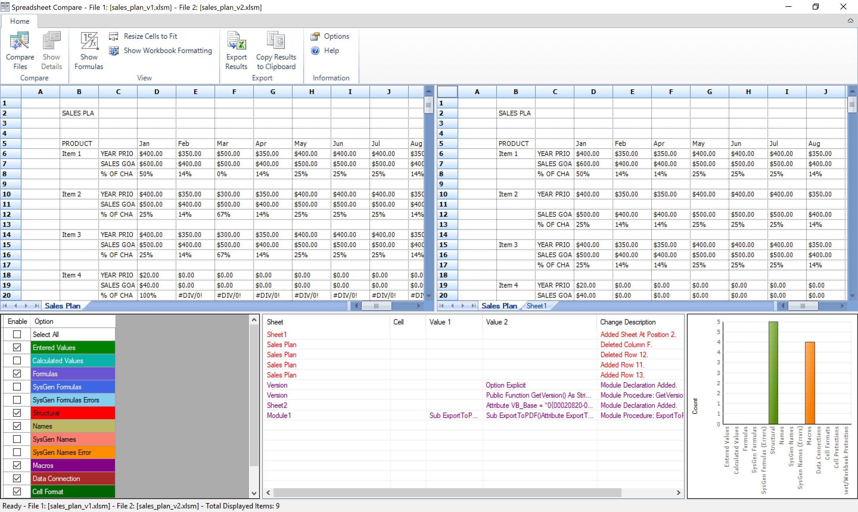 Spreadsheet Compare Office 365 Inside 5 Tools To Compare Excel Files
