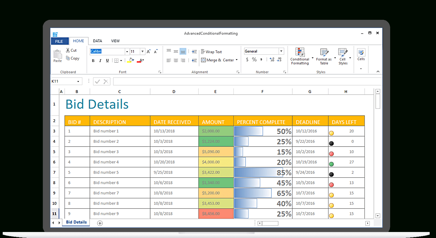 Spreadsheet Control Software Within Winforms Spreadsheet  Syncfusion Winforms Ui Controls  Visual