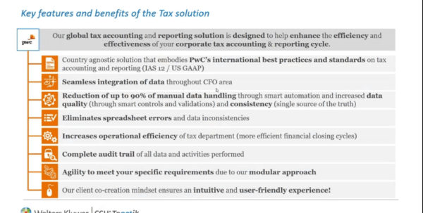 Spreadsheet Controls Best Practices Pwc Inside Tagetik Video    Chapter 3 Key Features And Benefits Of The Tax