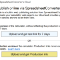 Spreadsheet Converter Review Pertaining To Help: Publish To Cloud  Spreadsheetconverter