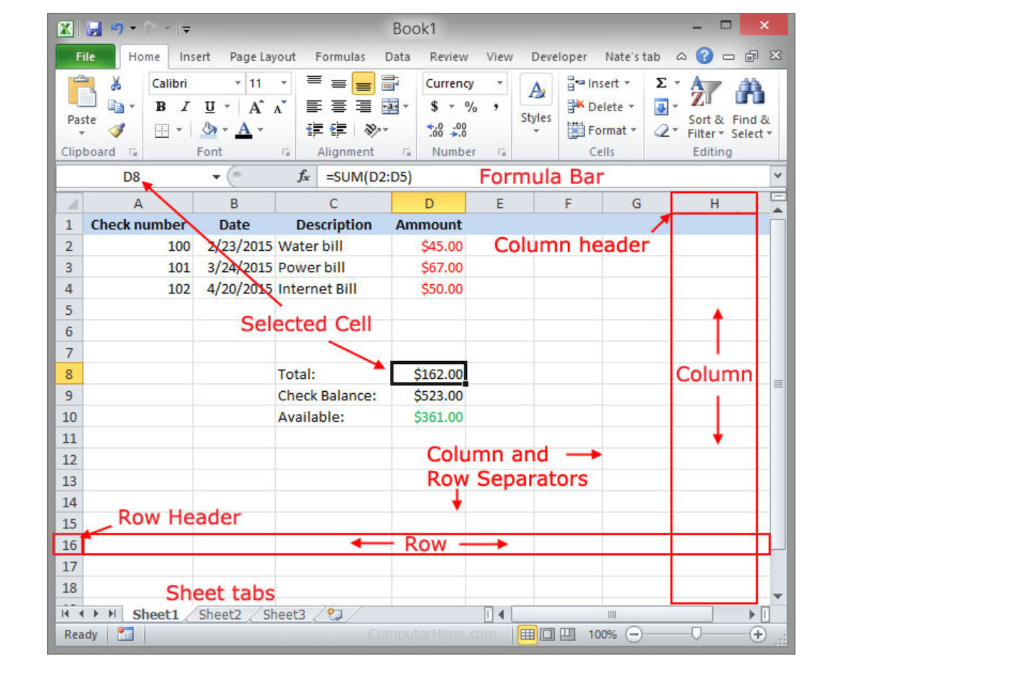 Spreadsheet Description For What Is A Spreadsheet