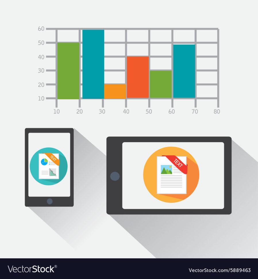 Spreadsheet Design For Spreadsheet Design Royalty Free Vector Image  Vectorstock
