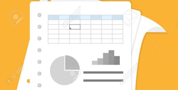 Spreadsheet Design Regarding Spreadsheet Design Illustration. Royalty Free Cliparts, Vectors, And