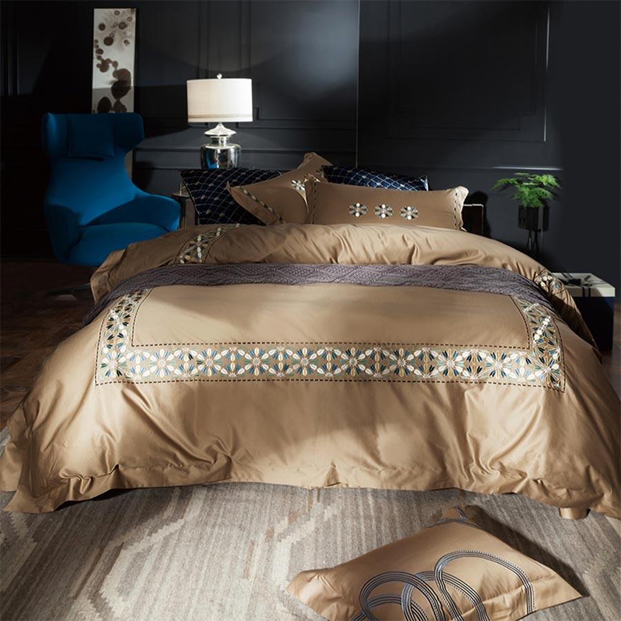 Spreadsheet Duvet Cover Inside Geometric Bedding Set Adult Teen,full Queen King Plush Cotton 100S