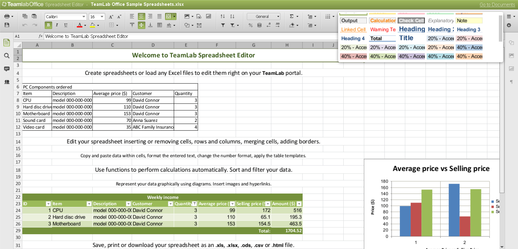 Spreadsheet Editor Inside Online Spreadsheet Editor For How To Make A Spreadsheet Excel
