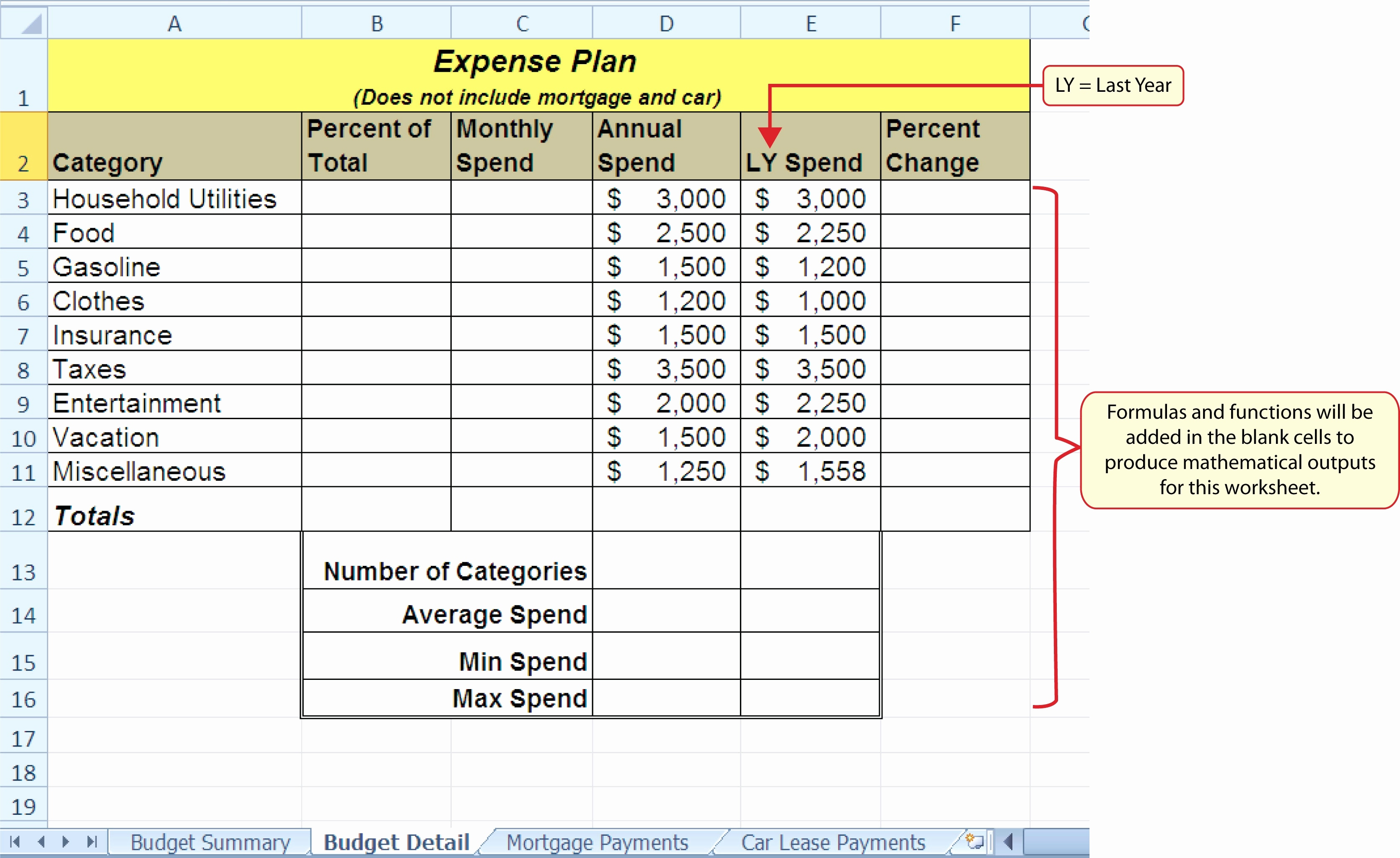 Spreadsheet Exercises For Students For Microsoft Excel Spreadsheet Instructions Unique Microsoft Excel