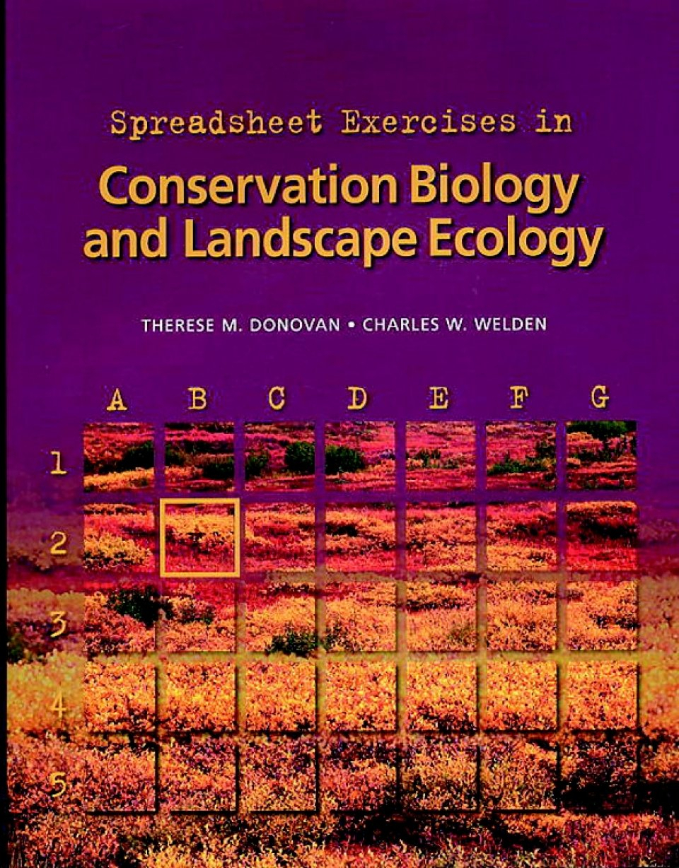 Spreadsheet Exercises For Students Throughout Spreadsheet Exercises In Conservation Biology And Landscape Ecology
