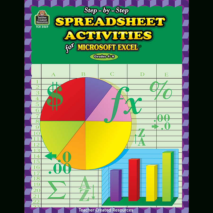 Spreadsheet Exercises For Students Within Stepbystep Spreadsheet Activities For Excelr  Tcr3469  Teacher