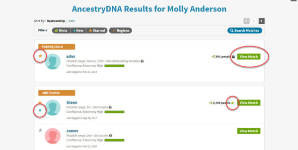 Spreadsheet For Ancestry Dna Matches For Ancestrydna® Matches