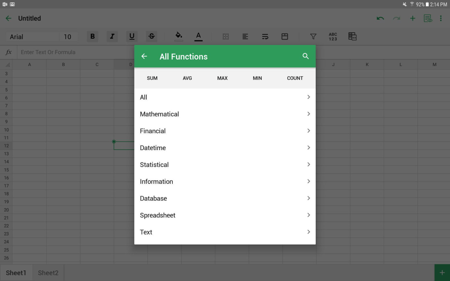 Spreadsheet For Android Throughout The 5 Best Spreadsheet Apps For Android In 2019