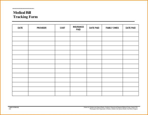 Spreadsheet For Bill Tracking Intended For Free Bill Tracking Spreadsheet  Resourcesaver
