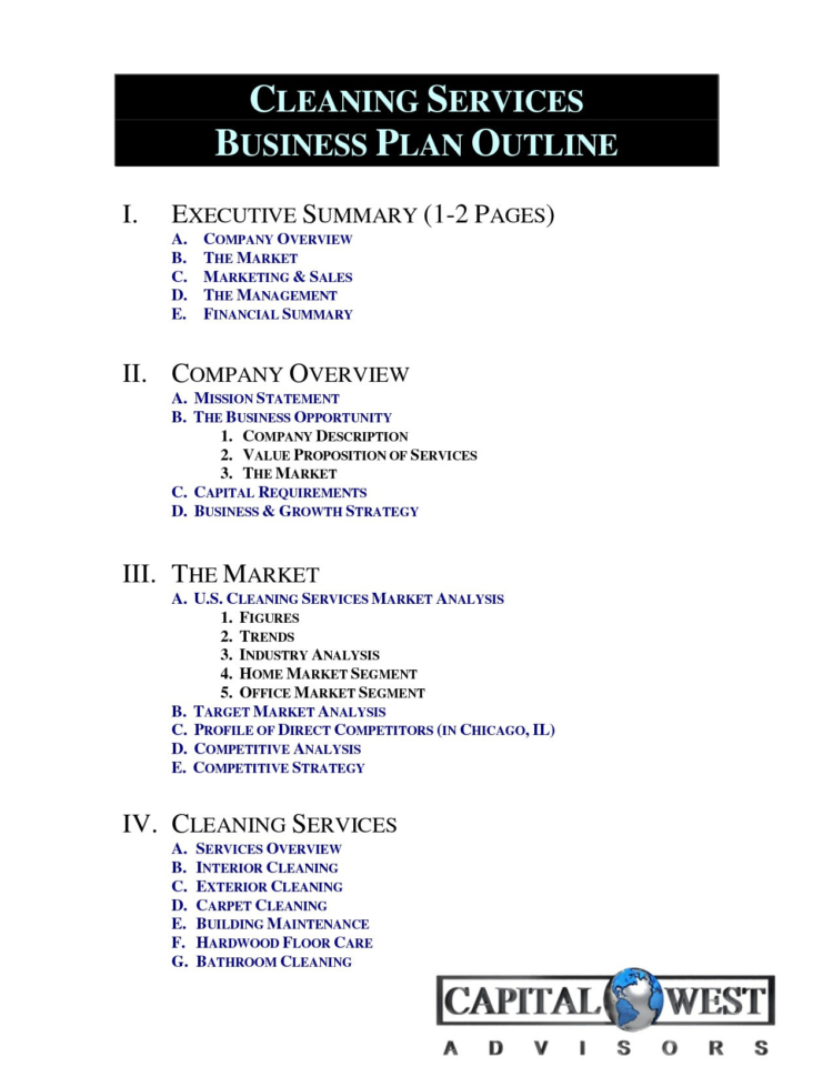Spreadsheet For Cleaning Business Within Cleaning Service Business Plan Template Free Fresh Cleaning Business