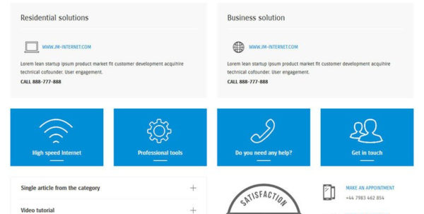 Spreadsheet For Cleaning Business Within Joomla Template For Small Business Website  Joomlamonster