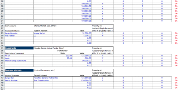 Spreadsheet For Estate Accounting With Spreadsheet For Estate Accounting  Homebiz4U2Profit
