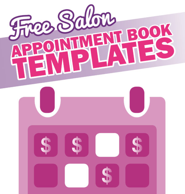 Spreadsheet For Hairdressers Inside Free Salon Appointment Book Template  Worldwide Salon Marketing