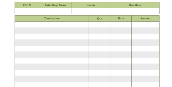 Spreadsheet For Lawn Mowing Business Download With Regard To Lawn Care Invoice Template